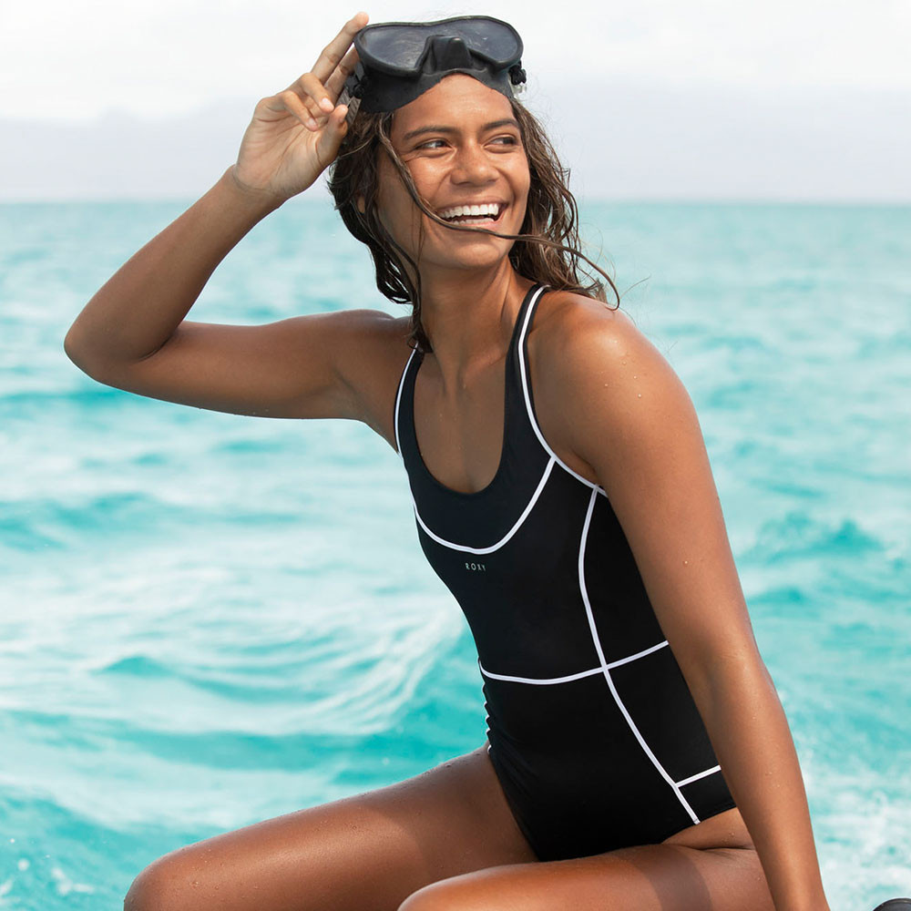RX FITNESS FASHION SPORTY 一件式泳裝
