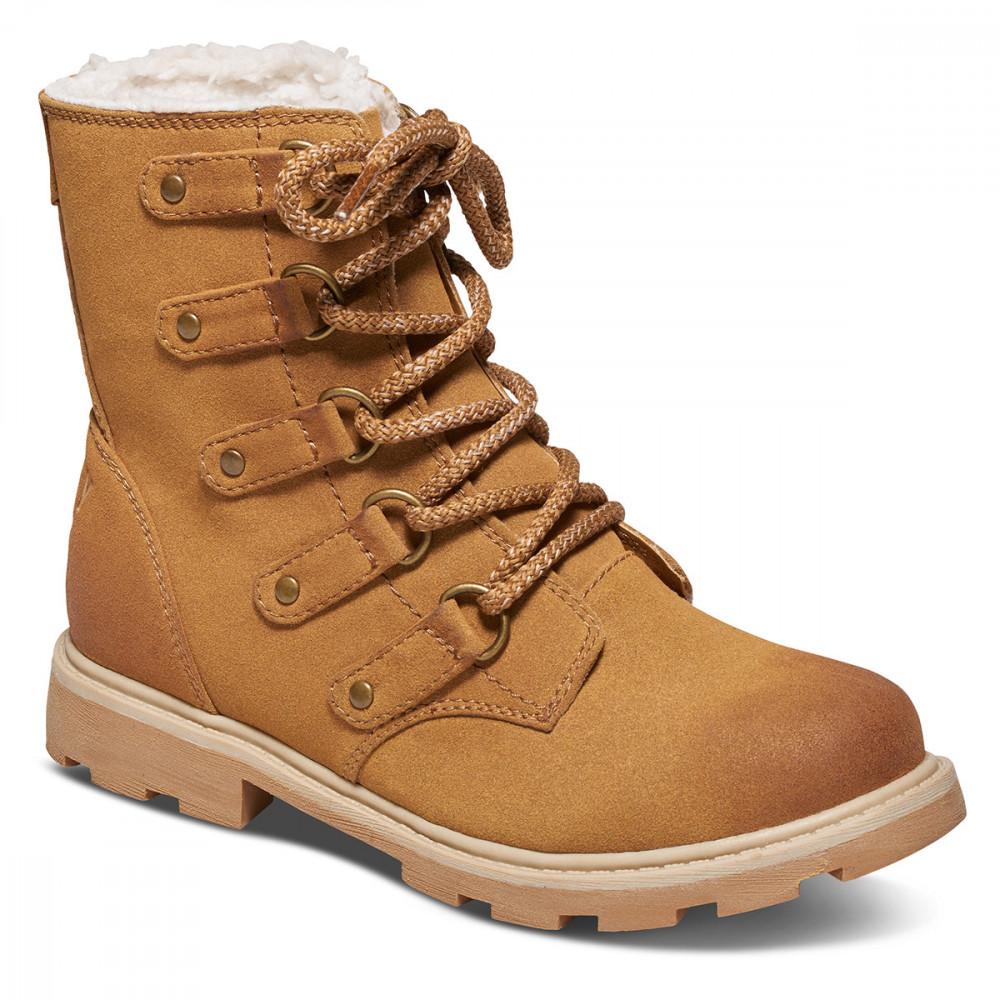 FREDIE 麂皮絨毛工作靴