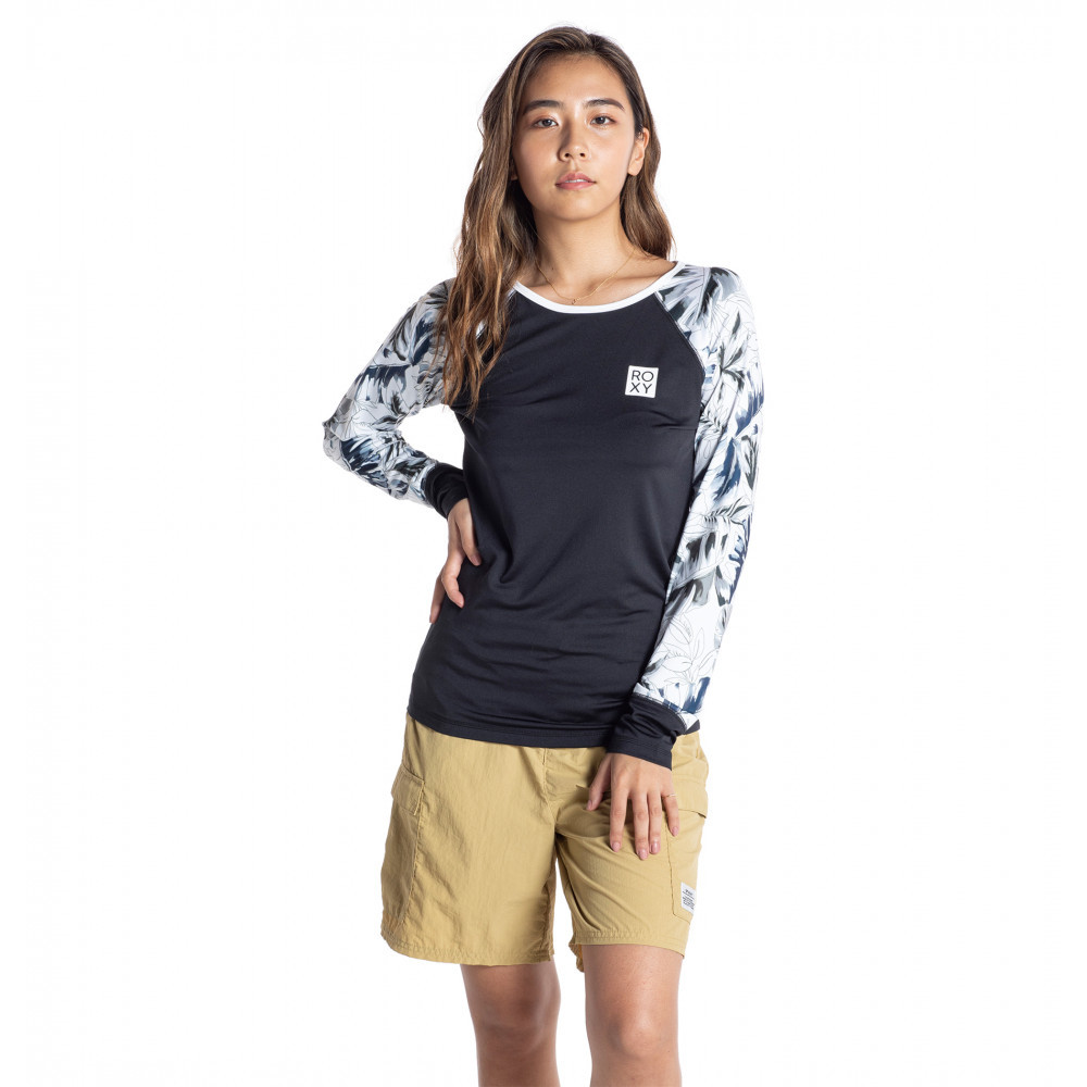 WATERCOLOR LEAF PULL OVER 防磨衣
